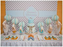 Centerpieces For Boy Baptism by 87 Best Baptism Decorations Images On Pinterest Baptism Ideas