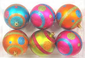 orange christmas ornaments