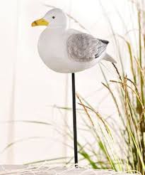 new standing seagull bird ornament arts xrl seag d in garden