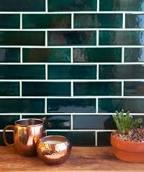 green with envy 3 kitchens that pair green tile u0026 copper accents