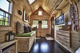 wonderful shipping container home interior with pallet wood from