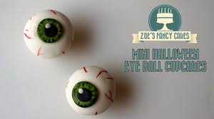 halloween eyeball mini cakes recipe food for health recipes