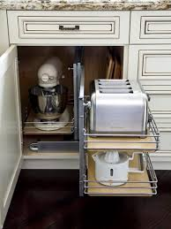 keep small appliances out of sight drawers counter space and spaces