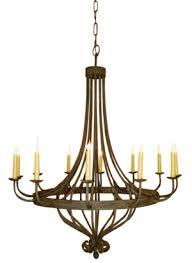 Simple Wrought Iron Chandelier Chandeliers Designs