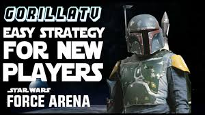 star wars force arena super easy strategy and deck for new