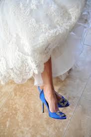 wedding shoes blue blue wedding shoes that dazzle modwedding