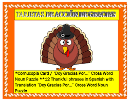 thanksgiving day cards in 12 thankful tengo statements
