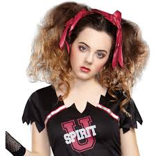 zombie contacts spirit halloween zombie cheerleader teen halloween costume walmart com