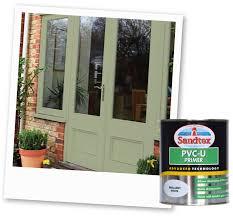 Green Upvc Front Doors preparation