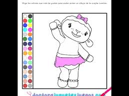 disney junior games doc mcstuffins coloring pages