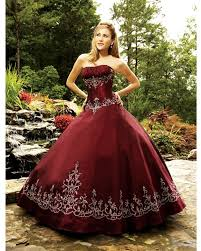 burgundy quince dresses gown strapless floor length burgundy quinceanera dress with