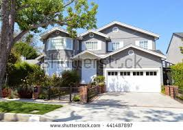 custom made homes modern custom made houses mansions nicely stock photo royalty free