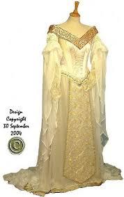 elvish style wedding dresses rossetti mediaeval celtic elvish ethereal embroidered wedding