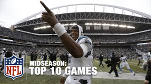 seahawks thanksgiving game nfl top 10 games midseason cam newton u0027s super comeback brees