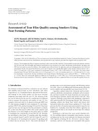 ferning pattern in spanish the tear ferning test a simple clinical technique to