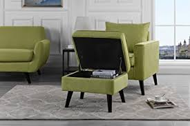 amazon com mid century brush microfiber modern living room large