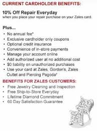 zales credit card review loaninformer