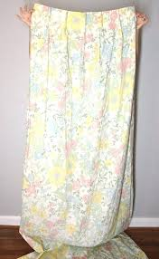 Retro Floral Curtains Vintage Bedroom Curtains Trafficsafety Club