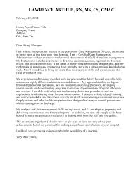 collection of solutions sample of cover letter for case manager