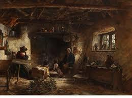 scottish homes and interiors 19th century scottish highland photos mid 19th cottage