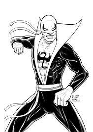 daily sketches iron fist by fedde on deviantart
