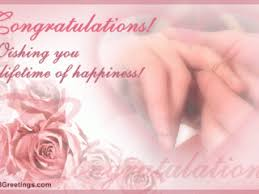 congratulations engagement card wishes for engagement cards a lifetime of happiness free
