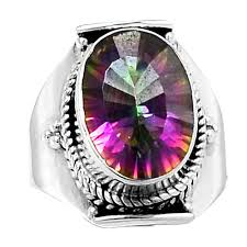 jewelry topaz rings images 92 5 sterling silver india mystic topaz rings jewelry khalis jpg
