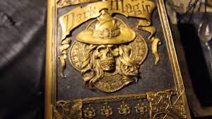 dark magic book animated halloween prop sounds haunted house