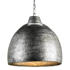 Modern Pendant Lights by Industrial Loft Hammered Metal Modern 1 Light Pendant Kathy Kuo Home