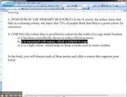 samples of good essays example of an essay introduction and thesis statement avi youtube