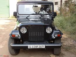 jeep hardtop interior armadillo a hard top for the mahindra thar team bhp