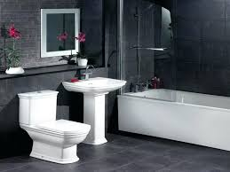 black and gray bathroom ideas black and white bathroom ideas masters mind