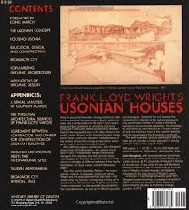 frank lloyd wright u0027s usonian houses designs for moderate cost one