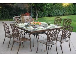 Darlee Patio by Darlee Outdoor Living Granite Top Cast Aluminum 64 Square Dining