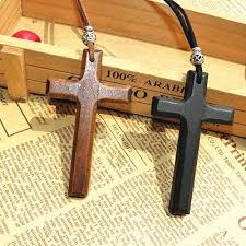 wholesaler wooden crosses wooden crosses wholesale wholesale discount wooden cross pendant necklace vintage beads