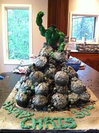 25 ways to make a great incredible hulk birthday cake hulk