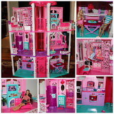 barbie dream house pink dollhouses barbie dream house barbie