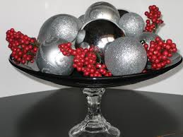 wonderful black purple glass luxury design christmas decoration