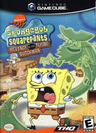 spongebob squarepants revenge of the flying dutchman gamecube game