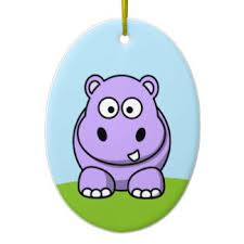 hippopotamus ornaments keepsake ornaments zazzle