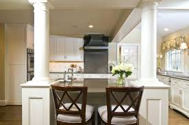 kitchen islands with columns kitchen island with columns kitchen island columns beautiful kitchen