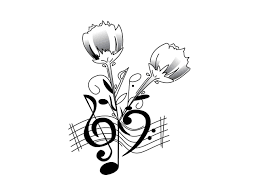 music notes and roses tattoo ideas free music tattoo designs