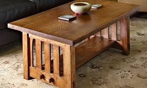 mission style end tables free mission style coffee table plans woodwork city free