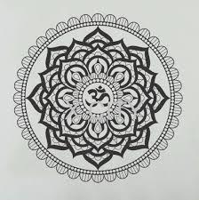 Wall Decals Mandala Ornament Indian by Aliexpress Com Buy Mandala Pattern Yoga Wall Decal Bedroom