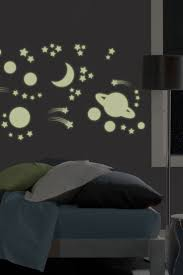 34 best glow images on pinterest dark walls home and wall stickers outer space glow in the dark wall stickers