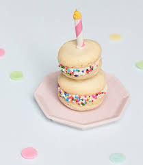 birthday cake u0026 blackberry macarons with lovely