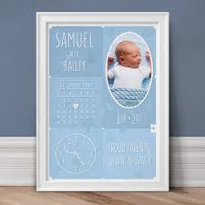 personalised prints for babies u0026 children