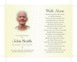 memorial cards memorial card
