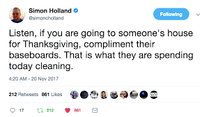 tweets about thanksgiving that will make you feel less alone