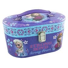 kids play vanity set disney frozen childrens vanity cases set of 2 carry cases anna